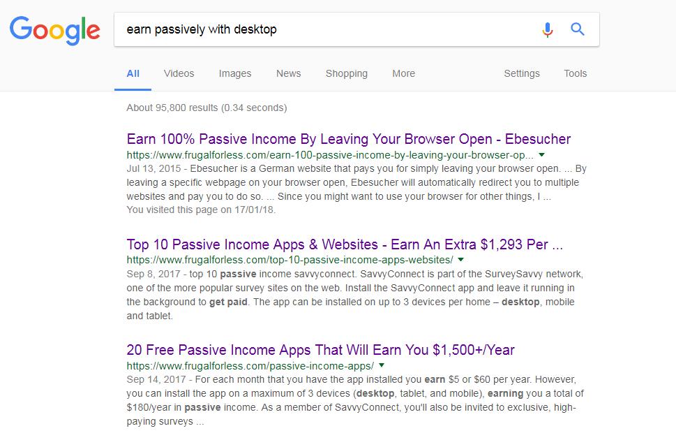 Earn Passive Income