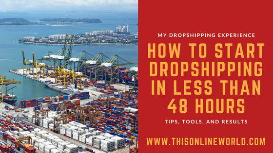 45f07cf07b How to Start a Dropshipping Business in 48 Hours - AliExpress   Shopify