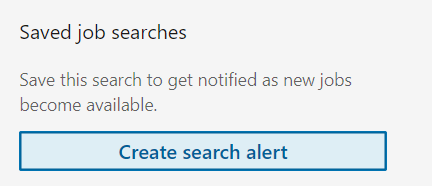 Linkedin-job-search-alert