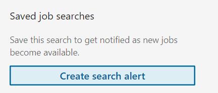 Linkedin-job-search-alert