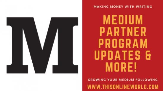 Making money with the Medium Partner Program