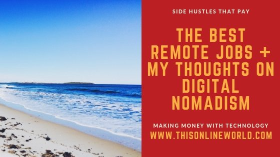 The best remote jobs