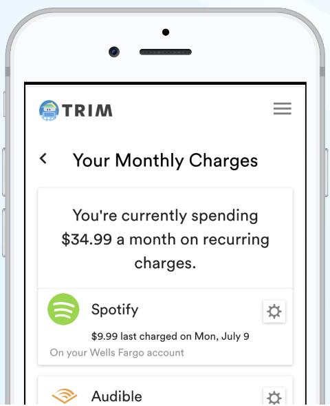 Trim-budget-manager