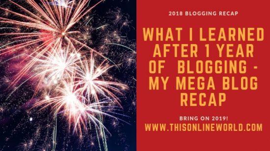blogging recap