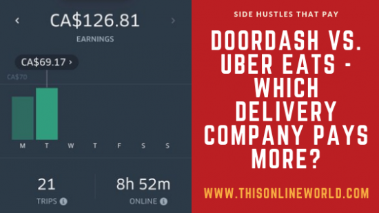 DoorDash vs  Uber Eats in 2019 - Which One Pays More?