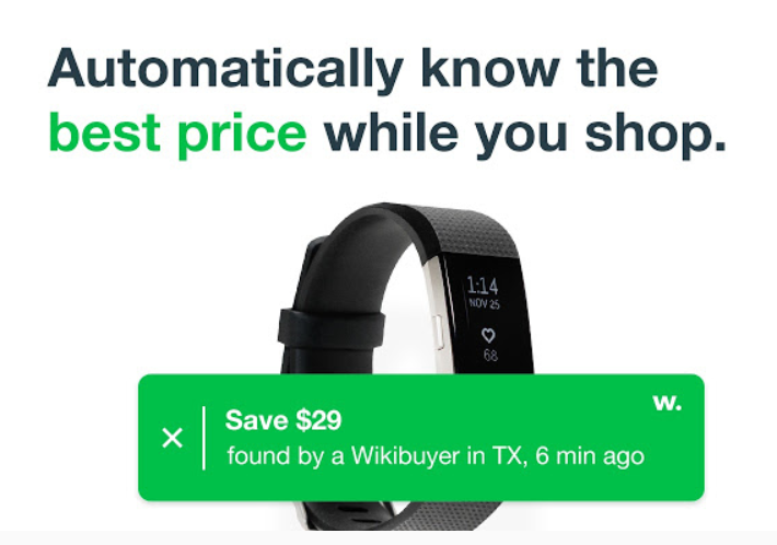 Wikibuy-extension
