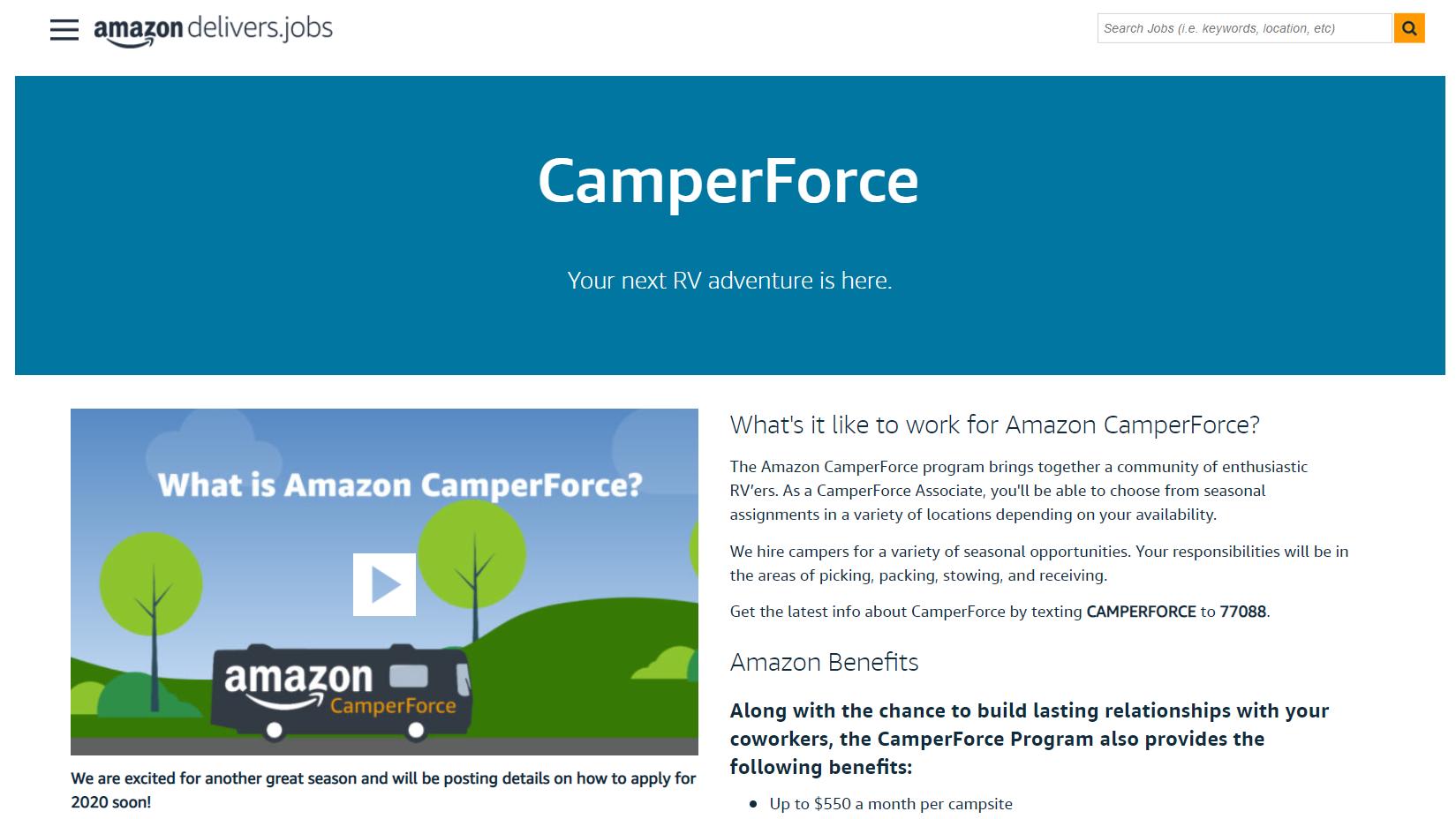 CamperForce-side-hustle