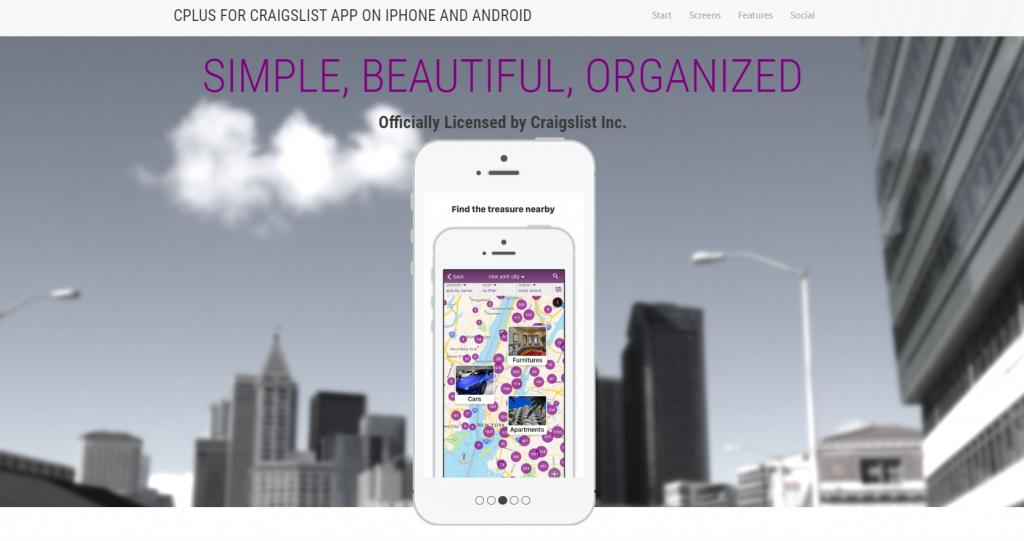 Craigslist-Cplus-app