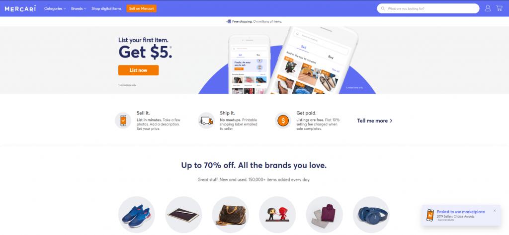 Mercari-selling-app
