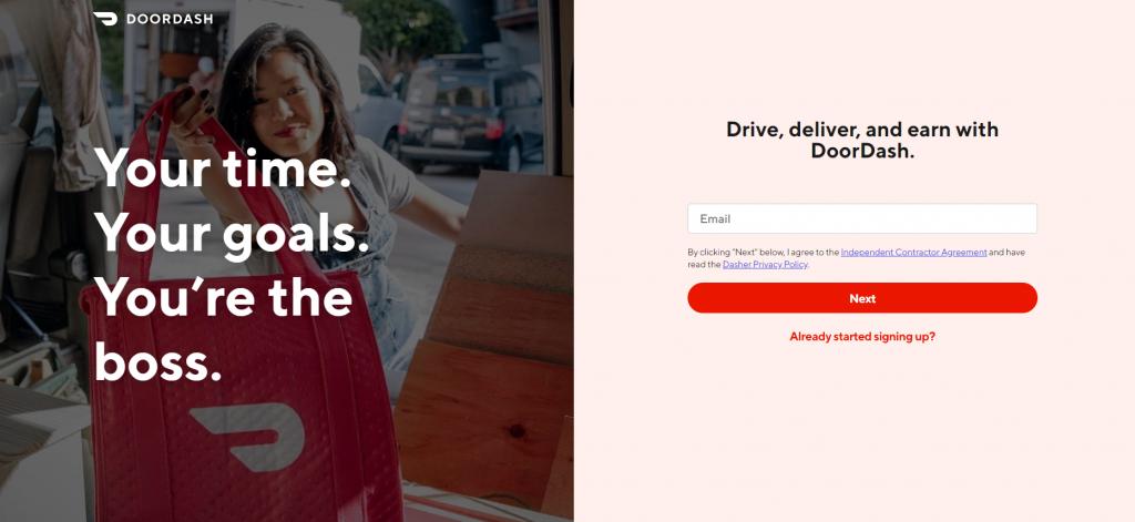 Deliver-For-DoorDash