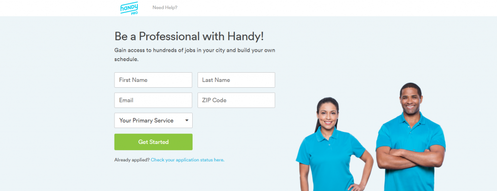 Handy-Pro-Signup