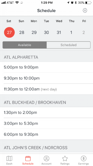 Schedule-A-Dash