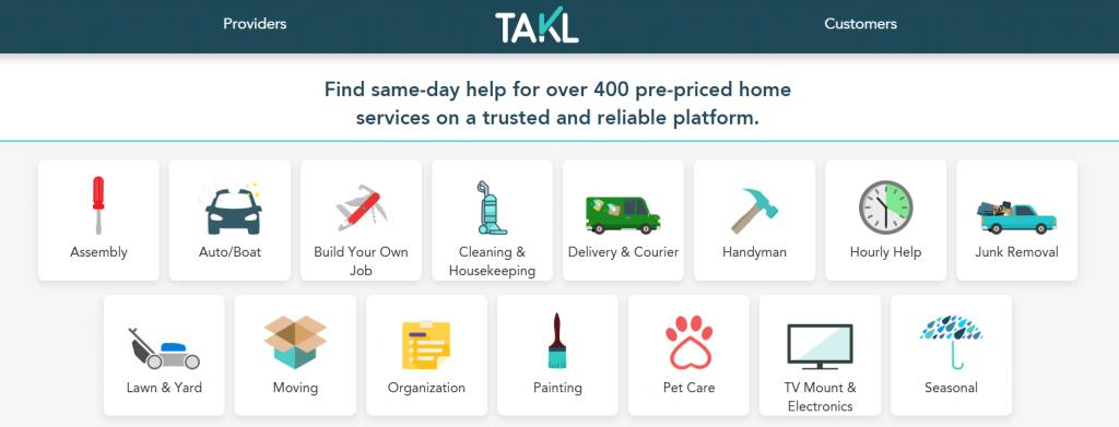 Takl-Website