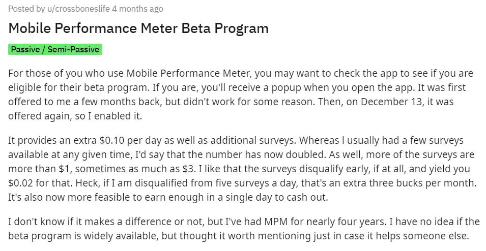 Mobile-Performance-Meter-Beta-Program