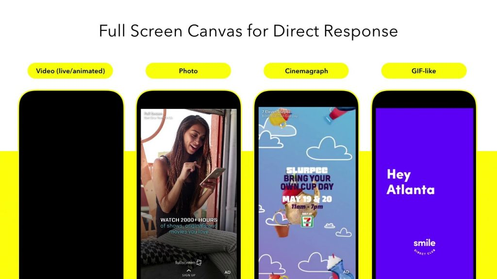 Snapchat-ads-examples