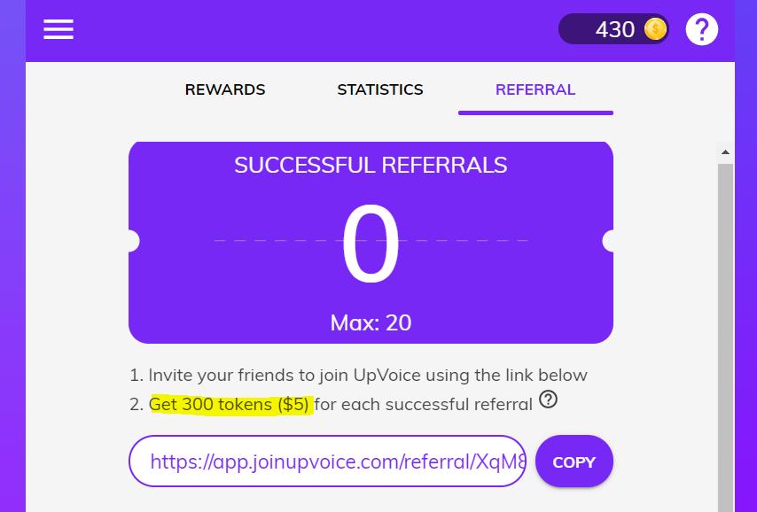 UpVoice-referral