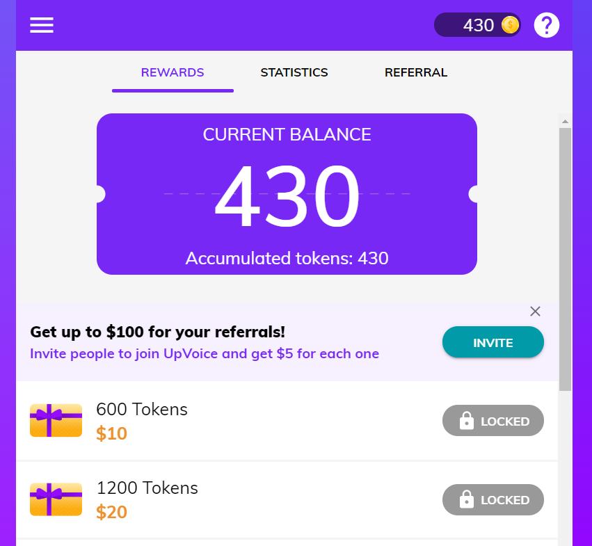 UpVoice-tokens